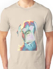 Psychedelic Dog Print Unisex T-Shirt