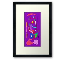 Initiation Magic Waiting Against the Trend Shrine Framed Print