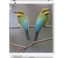 Looking Out For each Other. iPad Case/Skin