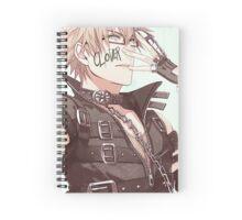 Amnesia World Boys:Kent Spiral Notebook