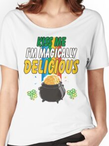 Kiss Me I'm Irish Women's Relaxed Fit T-Shirt