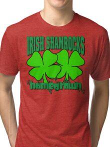 Irish Shamrocks Tri-blend T-Shirt