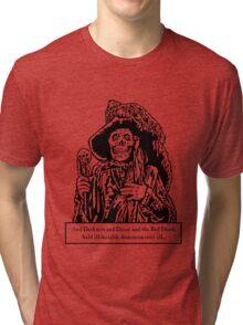 The Red Death (Light) Tri-blend T-Shirt