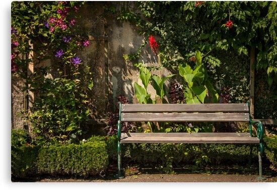 Salzburg: The Bench by Jacinthe Brault