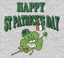 Happy Saint Patrick's Day One Piece - Long Sleeve