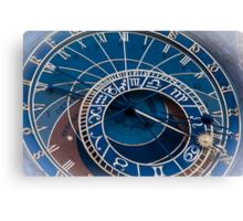 Praha: The Astronomical Clock Canvas Print