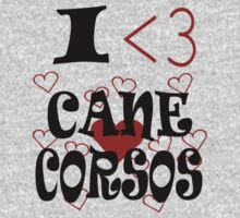 I <3 Cane Corsos by veganese