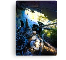 WWII Canso Bomber Crash Canvas Print