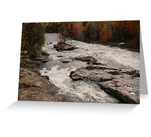 Canadian Autumn Landscape Greeting Card