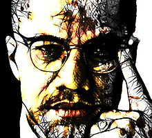 Malcolm X by TheDigArtisT