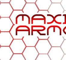 Maximum Armor Sticker