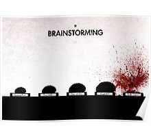 99 Steps of Progress - Brainstorming Poster