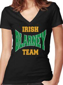 Irish Blarney Team Women's Fitted V-Neck T-Shirt