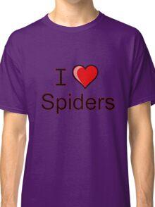 i love spiders heart Classic T-Shirt