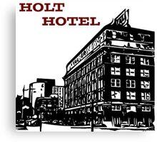 Holt Hotel/Kemp & Kell Building Vector Art Canvas Print