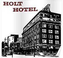 Holt Hotel/Kemp & Kell Building Vector Art Poster