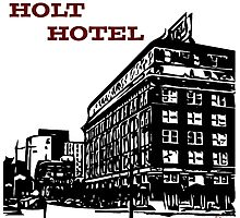 Holt Hotel/Kemp & Kell Building Vector Art Photographic Print