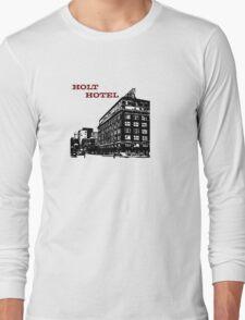 Holt Hotel/Kemp & Kell Building Vector Art Long Sleeve T-Shirt