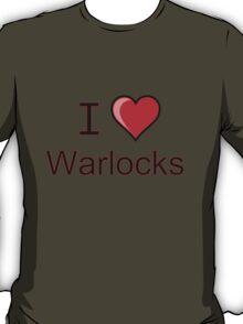 i love warlocks heart  T-Shirt
