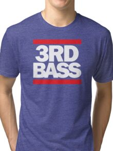 3rd Bass in the style of Run-D.M.C. Tri-blend T-Shirt