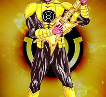 Yellow Lantern - Lead Guitar by NuttyRachy