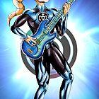 Blue Lantern - Bass Guitar by NuttyRachy