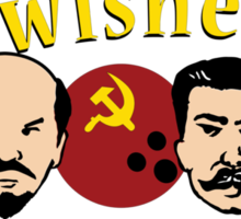 The Bowlsheviks (A Strike for the Proletariat!)  Sticker