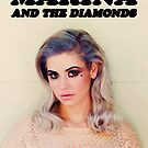 Marina and the Diamonds Poster by rolypolynicoley