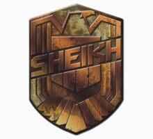 Custom Dredd Badge Shirt - Pocket - (Sheikh)  Kids Clothes