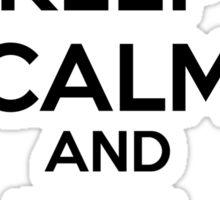 Keep Calm and Kill Muggles Sticker