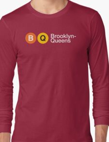 "3rd Bass ""Brooklyn Queens"" Long Sleeve T-Shirt"