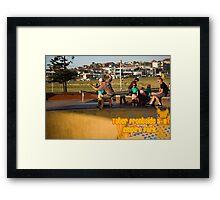 Tater Frontside 5-0 Shallow End Framed Print