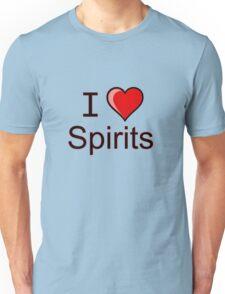 I love spirits Halloween  Unisex T-Shirt