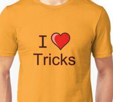I love Halloween tricks  Unisex T-Shirt