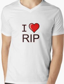 I love Halloween Rest in peace RIP  Mens V-Neck T-Shirt