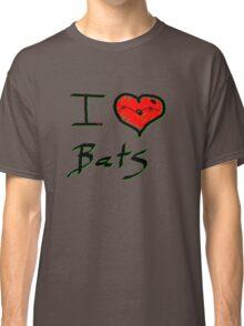 I love Halloween Bats  Classic T-Shirt