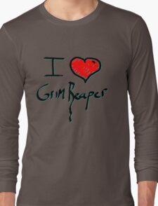 I love Halloween Grim reaper  Long Sleeve T-Shirt