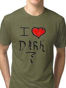 I love Halloween Dark  Tri-blend T-Shirt