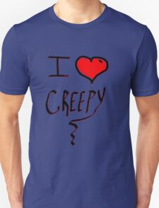 I love Halloween Creepy  T-Shirt