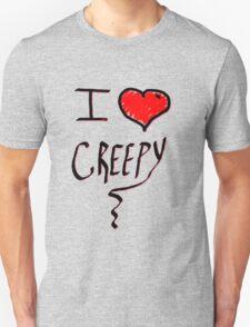 I love Halloween Creepy  Unisex T-Shirt