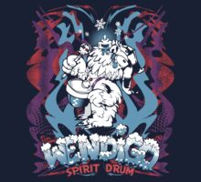 WENDIGO Spirit Drum by DevilDino