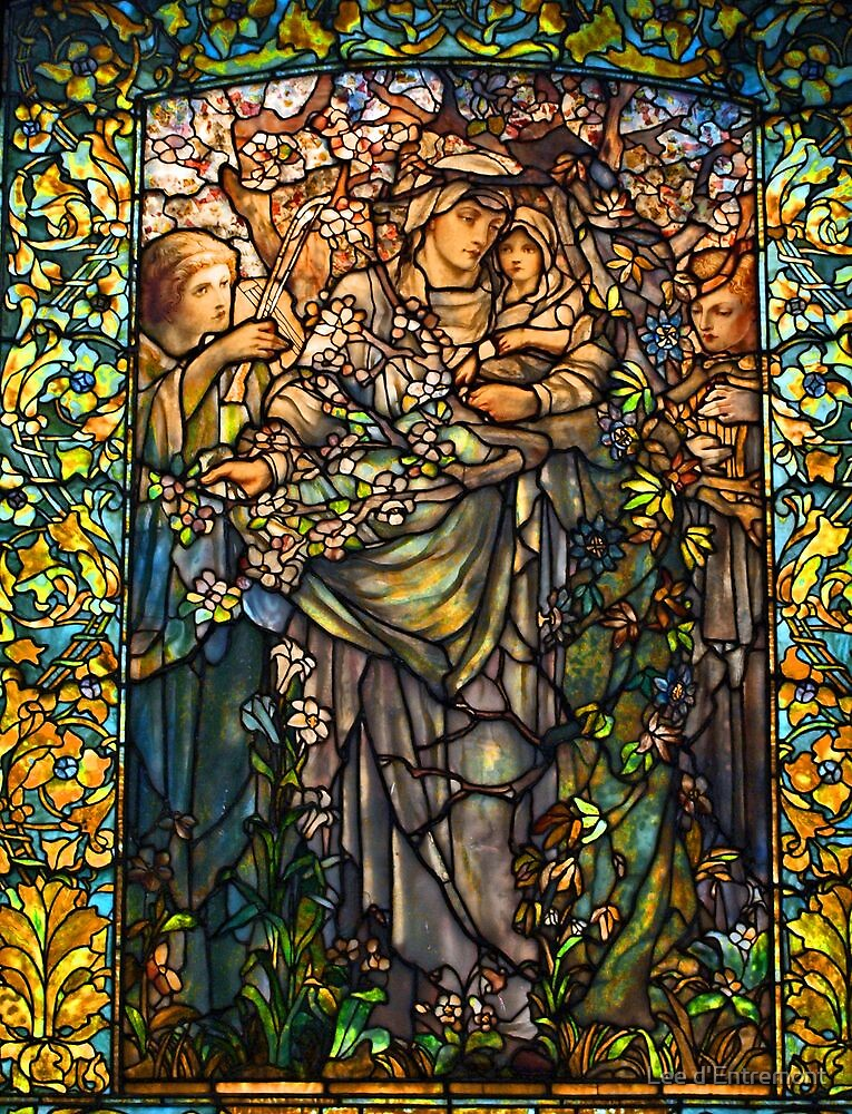 Madonna of the Flowers. by Lee d'Entremont