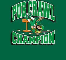 Irish Pub Crawl Champion Unisex T-Shirt