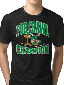 Irish Pub Crawl Champion Tri-blend T-Shirt