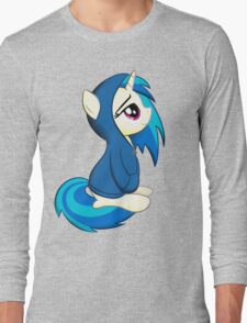 Vinyl Scratch - Lost in Thought Long Sleeve T-Shirt