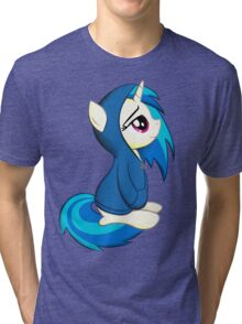 Vinyl Scratch - Lost in Thought Tri-blend T-Shirt
