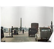 Place de la Concorde 19610419 0172  Poster