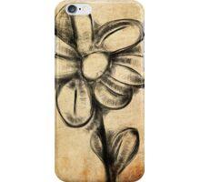 Ink Flower iPhone Case/Skin
