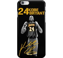 Kobe Bryant Signature iPhone Case/Skin