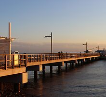 Woody Point Jetty by Becky Ladiges